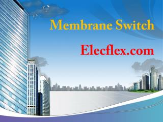 Buy Membrane switch online