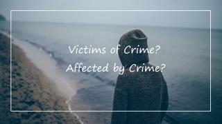 Victims of Crime Compensation in Western Australia