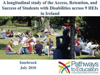 A longitudinal study of the Access, Retention, and Success of Students with Disabilities across 9 HEIs in Ireland
