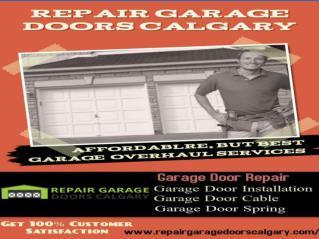 Cheap Garage Door Repair Calgary
