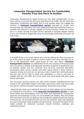 limousine transportation service.pdf