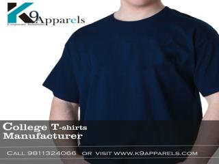 Best fabrics college t-shirts at wholesale rate on very low possible prices.