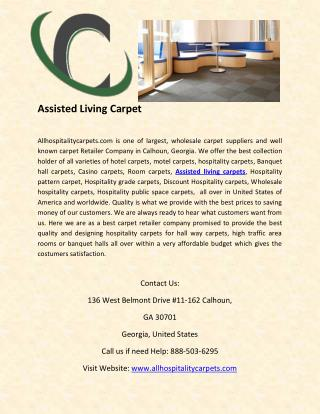 Assisted Living Carpet