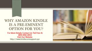 Amazon Kindle Support Help - Toll Free Call At -1855-856-2653