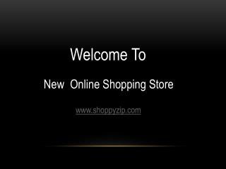New Online Shopping Store