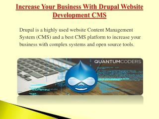Best Drupal Development in USA