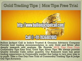 Intraday Tips Free Trial