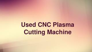 Used CNC Plasma Cutting Machine | Cluemachine.com