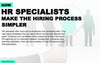 3 reasons for businesses to hire HR specialists
