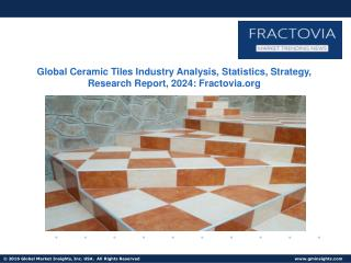 Ceramic Wall Tiles Market forecast to grow at a rate of 9.5% over 2016-2024