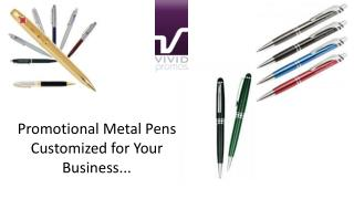 Promotional Metal Pens Customized for Your Business