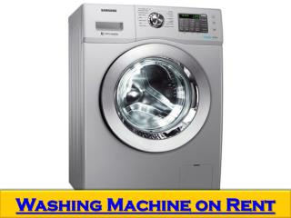 Top loader automatic washing machine on rent in Bangalore