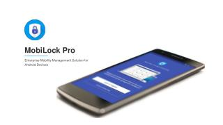 Mobilock Pro - Kiosk Lockdown Solution
