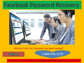 Facebook Password Recovery 1-888-830-5278 help for Open the password