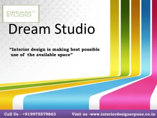 Interior designer in Pune - Dream Studio