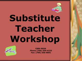 Substitute Teacher Workshop