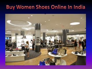 Buy Women Shoes Online In India