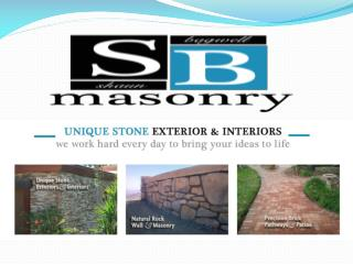 Masonry Contractors and Retaining wall contractors san diego