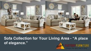 Sofa Collection for Your Living Area