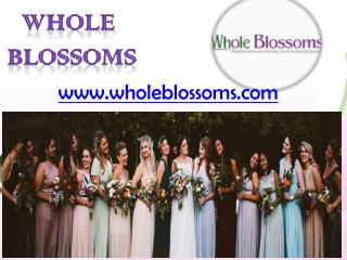 Wholesale Flowers - Wholeblossoms