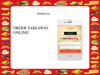 Order your favourite Food Online