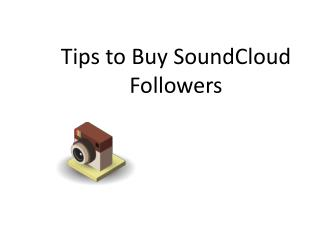 Tips to Buy SoundCloud Followers