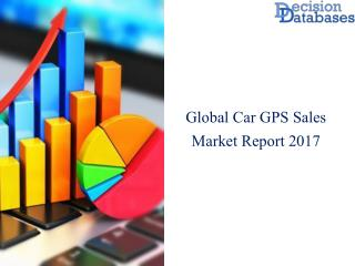 Worldwide Car GPS Sales Market Manufactures and Key Statistics Analysis 2017