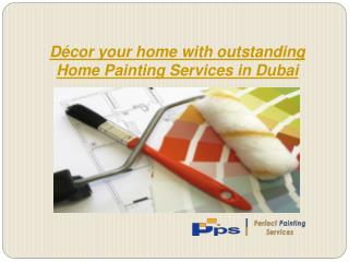 Home painting in Dubai