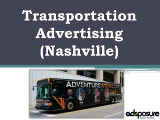 Transportation Advertising For Your Business - Adsposure