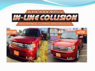 Auto collision and restoration repair Santee ,La Mesa and el Cajon