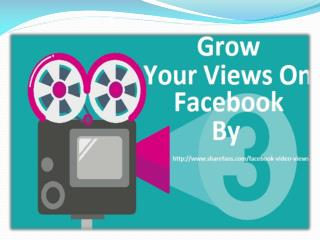 How to Increase Facebook Video Views