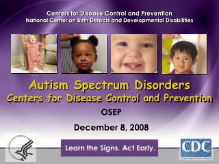Autism Spectrum Disorders Centers for Disease Control and Prevention