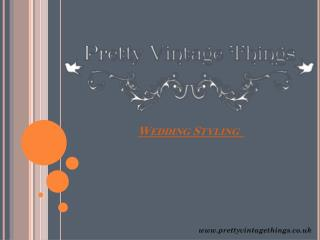 Checkout Wedding Styling Themes