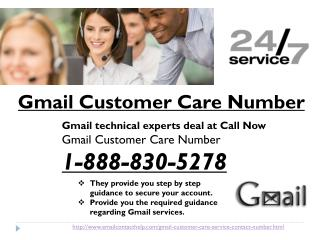 Is Gmail Customer Care Number really advantageous? Yes or no? @1-888-830-5278