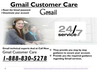 How to get the instant Gmail Customer Care @1-888-830-5278?