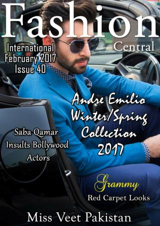 Fashion Central International February Issue 2017