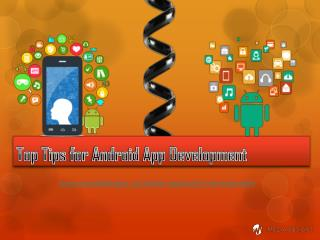 Top Tips for Android App Development | iMedia Designs