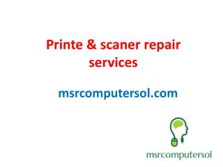 printer and scaner repair services in hyderabad