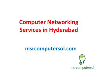 computer hardware&networking services in hyderabad