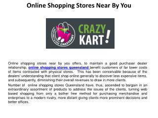 Online shopping stores near by you