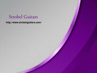 Travel Electric Guitar_www.strobelguitars.com