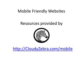 How to Make My Website Mobile Friendly