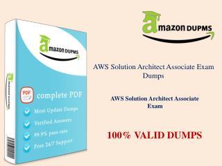 AWS Solution Architect Associate Actualtest :: Amazondumps.us