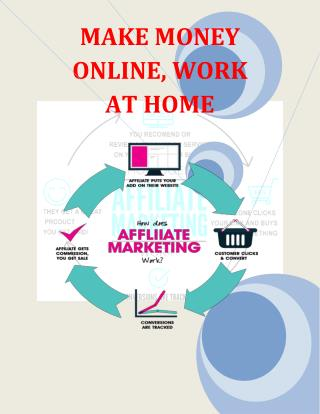 MAKE MONEY ONLINE WORK AT HOME