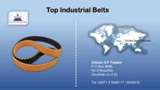 Cost Effective Timing belts Automotive Suppliers in UAE