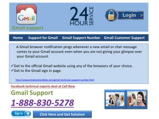 What are the pros of the Gmail support @1-888-830-5278?