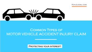 Common type of motor vehicle accident injury compensation