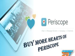 Increase Hearts on Periscope and Stand Out of the Crowd