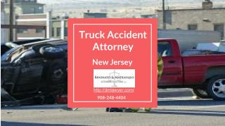 Truck Accident Attorney New Jersey
